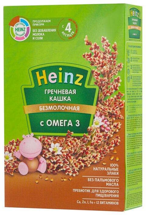 Каша Heinz безмолочная гречневая с Омега 3 (с 4 месяцев) 200 г
