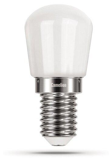 Лампа светодиодная LED2-T26/845/E14 2Вт 220В Camelion 13154, 1шт
