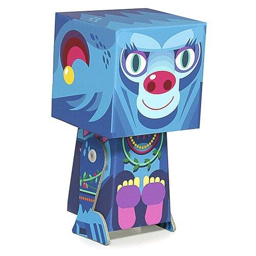 Игрушка из картона Krooom Шимпанзе Лоретта, модель Fold my Treecher krooom игрушки из картона 3d пазл монстры k 701