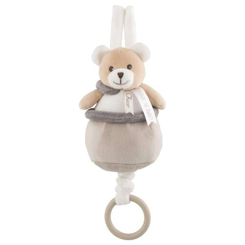 Подвесная игрушка Chicco Медвежонок Doudou бежевыйПодвески<br>