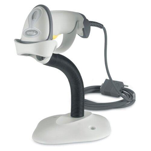 Сканер штрих-кода ручной ZEBRA LS2208 белый