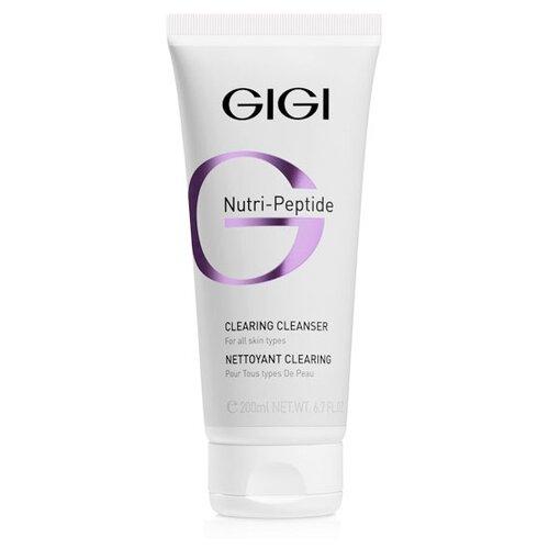 Gigi гель пептидный очищающий Nutri-peptide, 200 мл