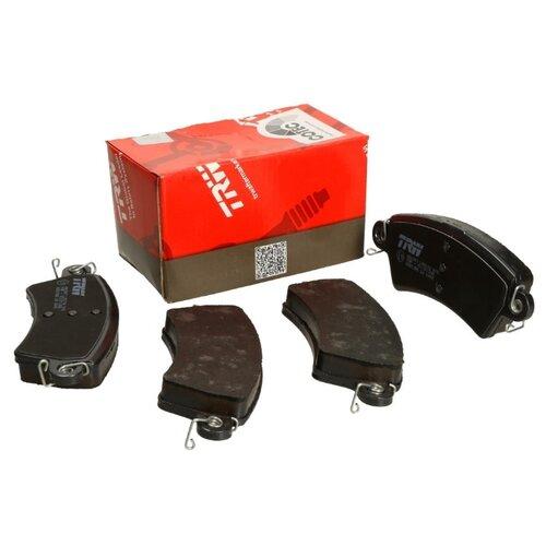 Фото - Дисковые тормозные колодки передние TRW GDB1385 для Peugeot 206, Peugeot 306 (4 шт.) дисковые тормозные колодки передние trw gdb3286 для toyota highlander lexus rx 4 шт