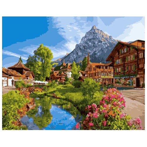 Купить Картина по номерам ВанГогВоМне ZX 23135 Кандерштег 40х50 см, Картины по номерам и контурам