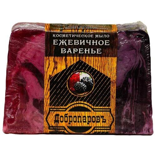 Мыло кусковое Добропаровъ ежевичное варенье, 100 г мыло кусковое добропаровъ пивные дрожжи лаванда 100 г