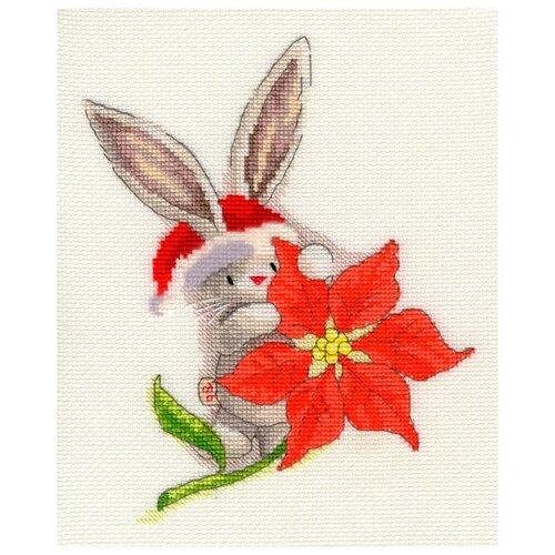 Набор для вышивания Poinsettia (Пуансеттия), Bothy Threads, Наборы для вышивания  - купить со скидкой