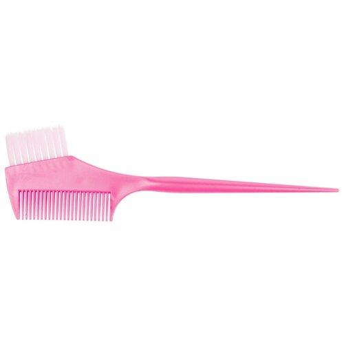 Купить DEWAL Кисть для окрашивания волос с расческой JPP049-1 розовый 45 мм