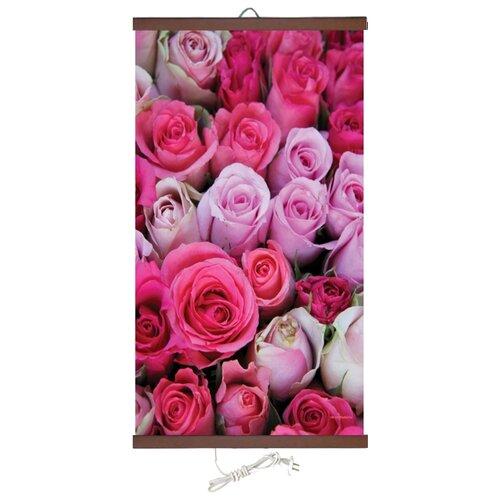 Инфракрасный плёночный обогреватель ТеплоКрыма Розы ЭО 448/2 розовый