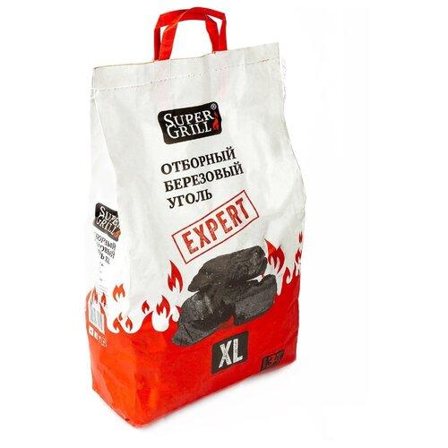SuperGrill Уголь березовый отборный XL 3 кг.