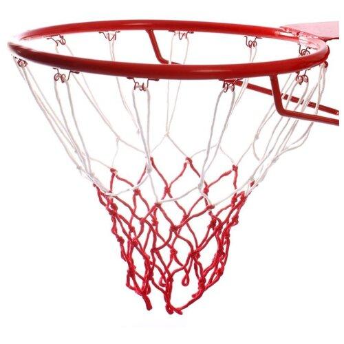 Сетка баскетбольная ONLITOP двухцветная, нить 3,2 мм, (2 шт)