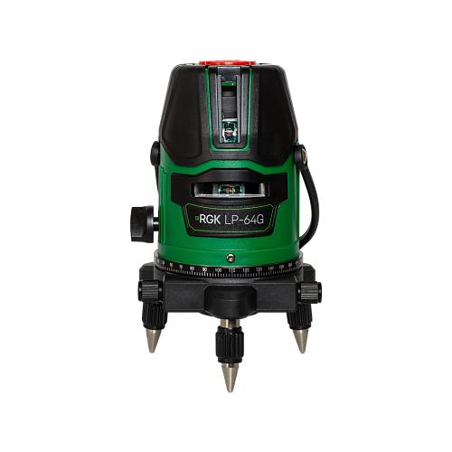 Лазерный уровень самовыравнивающийся RGK LP-64G уровень rgk u4040