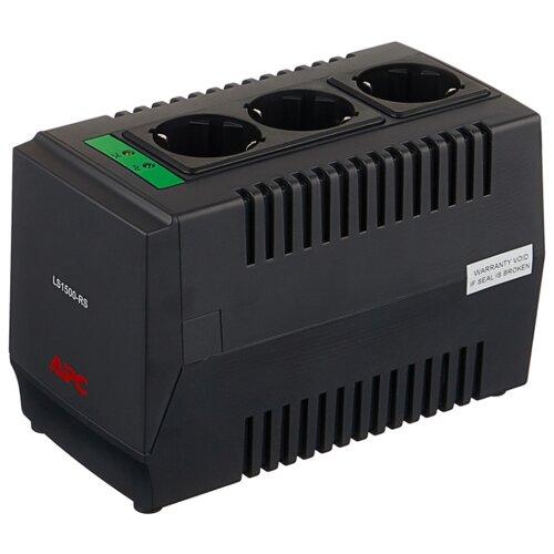 Стабилизатор напряжения однофазный APC by Schneider Electric Line-R LS1500-RS (0.75 кВт) цена 2017