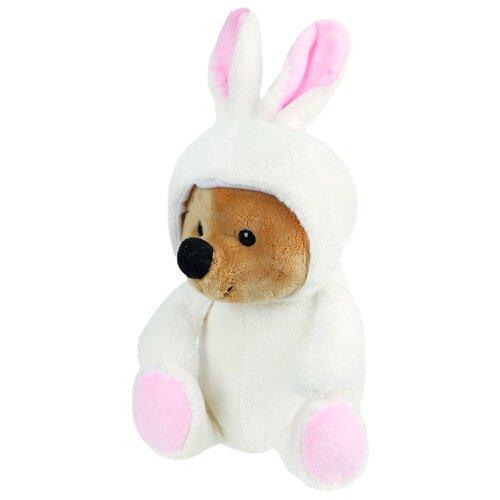 цена на Мягкая игрушка Fluffy Family Мышонок-зайка 21 см