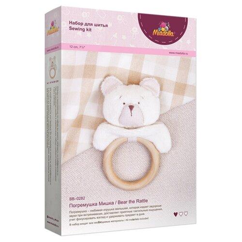 Купить Комплект для шитья игрушки Miadolla Погремушка Мишка арт. BB-0282, Изготовление кукол и игрушек