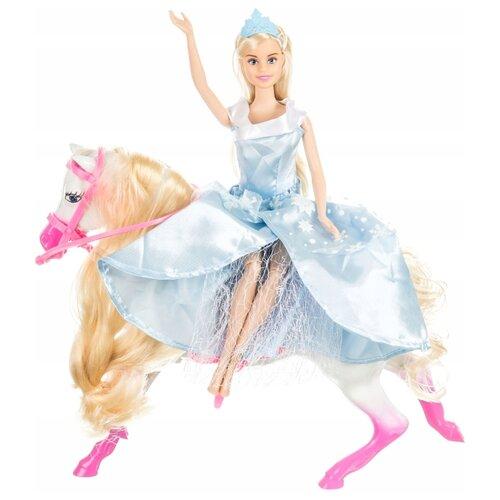 Купить Кукла Shantou Gepai Anlily с лошадью, 29 см, 99106, Куклы и пупсы