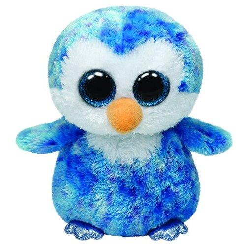 Мягкая игрушка TY Beanie boos Пингвин Ice cube 15 см