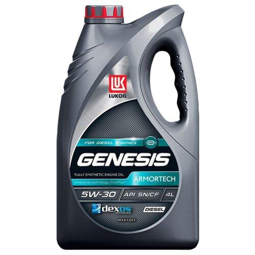 Моторное масло ЛУКОЙЛ Genesis Armortech Diesel 5W-30 4 л моторное масло лукойл genesis armortech fd 5w 30 4 л