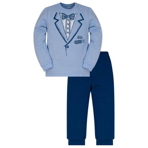 Комплект одежды Утенок размер 80, голубой/индиго по цене 490