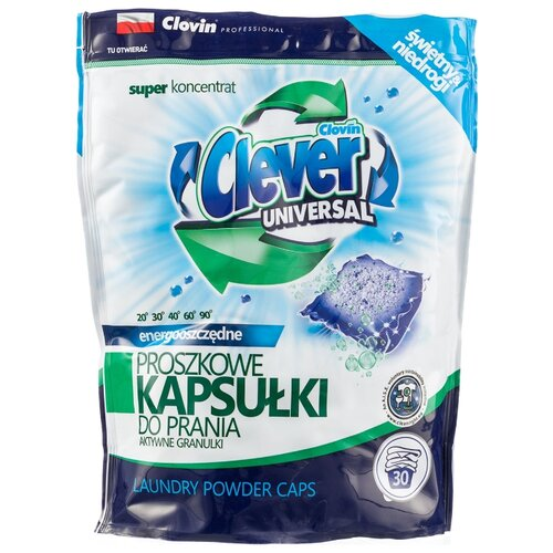 Капсулы Clever Universal, пакет, 30 шт