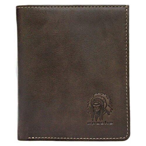 Фото - Портмоне Apache ВП-А, коричневый портмоне кожаное для документов и денег вп а табачно желтое apache