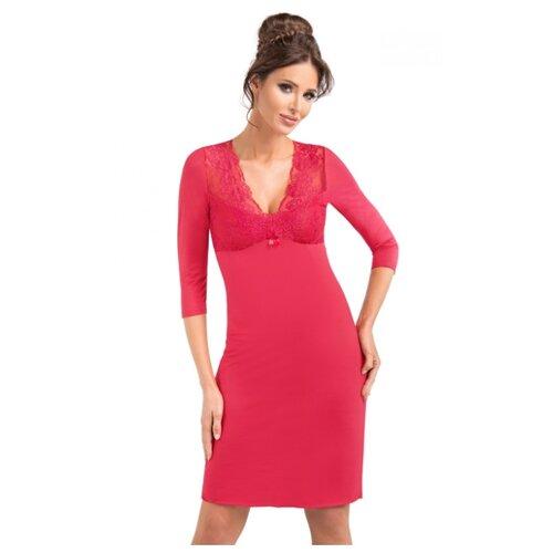 Сорочка Donna, размер XXL, красный сорочка donna размер xxl бордовый