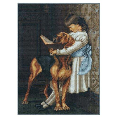 Купить Luca-S Набор для вышивания Час воспитания 40 х 28 см (B0429), Наборы для вышивания
