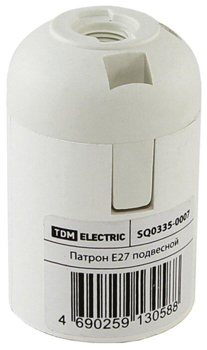 Купить Патрон E27 TDM ЕLECTRIC SQ0335-0007 по низкой цене с доставкой из Яндекс.Маркета (бывший Беру)