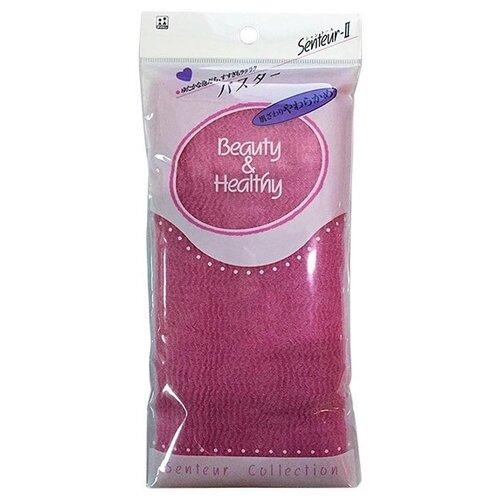 Мочалка Aisen Beauty & Healthy розовый