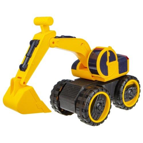 Купить Экскаватор 1 TOY Горстрой (Т16945) 20 см желтый, Машинки и техника