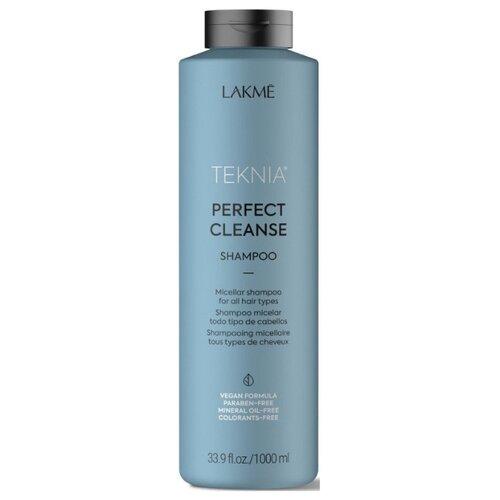 Купить Lakme шампунь Teknia Perfect Cleanse мицеллярный для глубокого очищения волос, 1 л