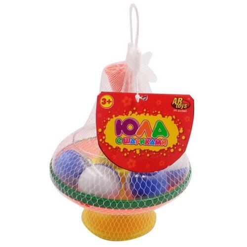 Купить Юла ABtoys с шариками (PT-01060), Юлы