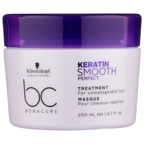 Фото - BC Bonacure Keratin Smooth Perfect Маска для гладкости волос, 200 мл bc bonacure keratin smooth perfect маска для гладкости волос 750 мл