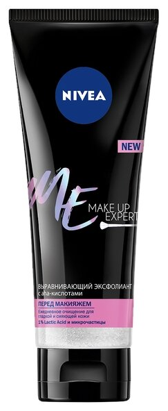 Nivea Выравнивающий эксфолиант перед макияжем Make Up Expert с aha-кислотами