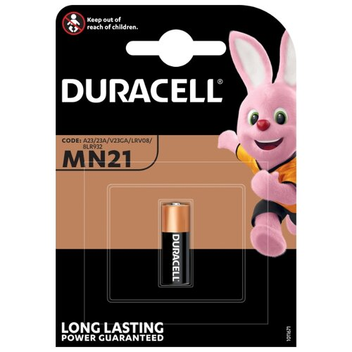 Батарейка Duracell MN21 1 шт блистер батарейка a23 duracell mn21 bl1 1 штука