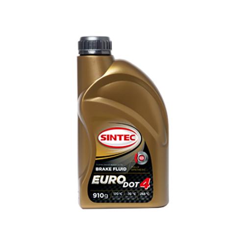 Тормозная жидкость SINTEC Euro Dot 4 0.91 л