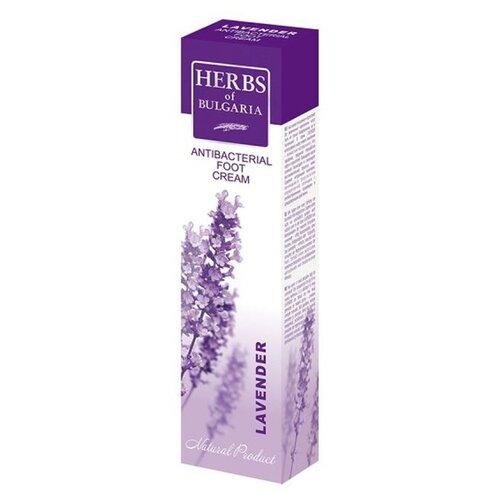Herbs of Bulgaria Крем для ног Lavender антибактериальный 75 мл туба