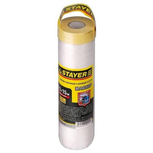 Защитная пленка STAYER 12255-210-15, 15 м, бесцветный