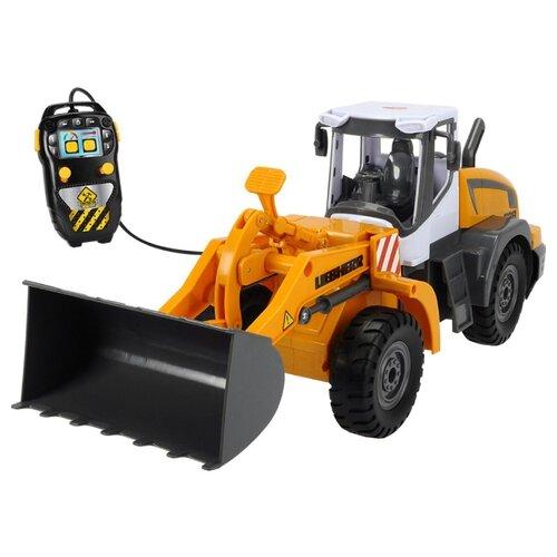 Экскаватор Dickie Toys Liebherr (3728001) 40 см желтый/черный экскаватор 998 su yuan toys 998 45a3 16 см желтый