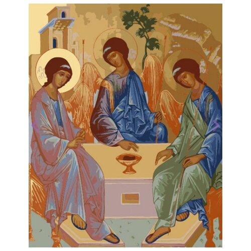 Фото - Картина по номерам Святая Троица, 30х40 см цветной картина по номерам белый тигр 30х40 см me1072