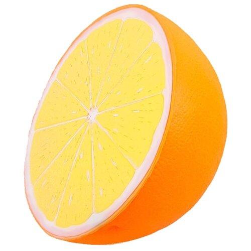 Сквиши игрушка антистресс / Мялка / Мнушка Апельсин (Оранжевый)