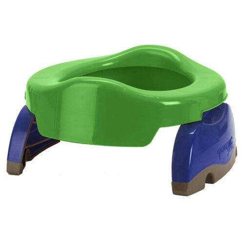 Купить Potette Plus горшок 2 in 1 Potette plus + 10 сменных пакетов зеленый/синий, Горшки и сиденья