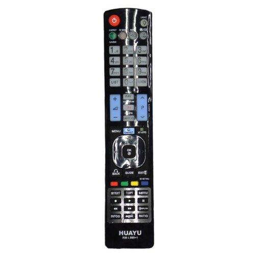 Фото - Пульт ДУ Huayu RM-L999+1 для для телевизоров LG LCD/LED TV черный пульт ду huayu rm 836c для для телевизоров philips rc1205b 30063555 rc0770 rc19036002 rc19036001 rc19042001 серый