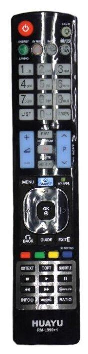 Пульт ДУ Huayu для для телевизоров LG LCD/LED TV, черный фото 1