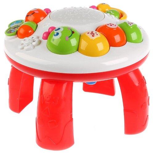 Купить Развивающая игрушка Умка Многофункциональный столик Любимые сказки и потешки белый, Развивающие игрушки