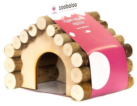 Домик для грызунов Zoobaloo Ромб 13х10х10 см