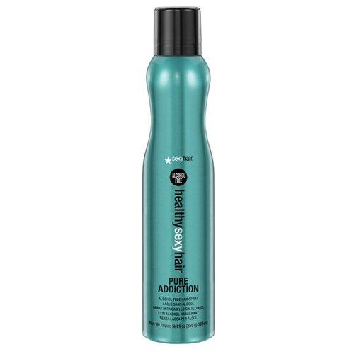 Sexy Hair Лак для волос Healthy Pure Addiction, 256 г, 305 мл