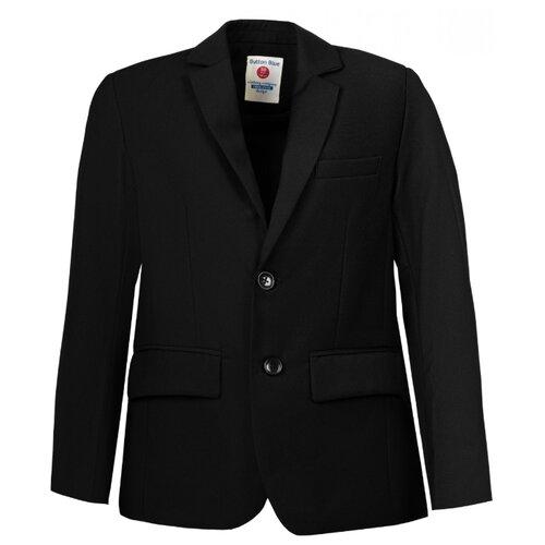 Пиджак Button Blue размер 164, черный