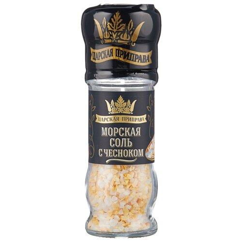 Царская приправа Морская соль с чесноком, 65 г