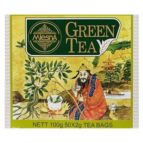Чай зеленый Mlesna в пакетиках, 50 шт. чай зеленый императорский чай collection china yunnan в пакетиках 500 шт