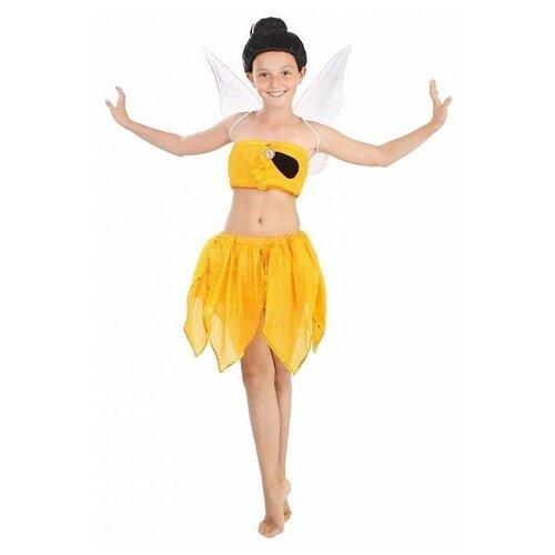 Купить Костюм Батик Фея Иридесса (488), желтый, размер 122, Карнавальные костюмы